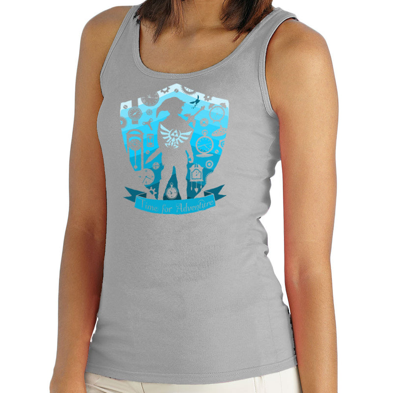Time for Adventure Link Zelda Badge Women's Vest by Kempo24 - Cloud City 7