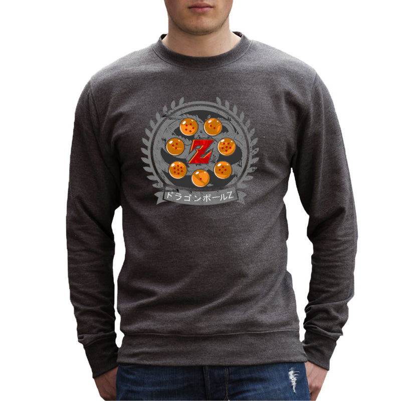 Medallion Dragon Ball Z Men's Sweatshirt by Kempo24 - Cloud City 7