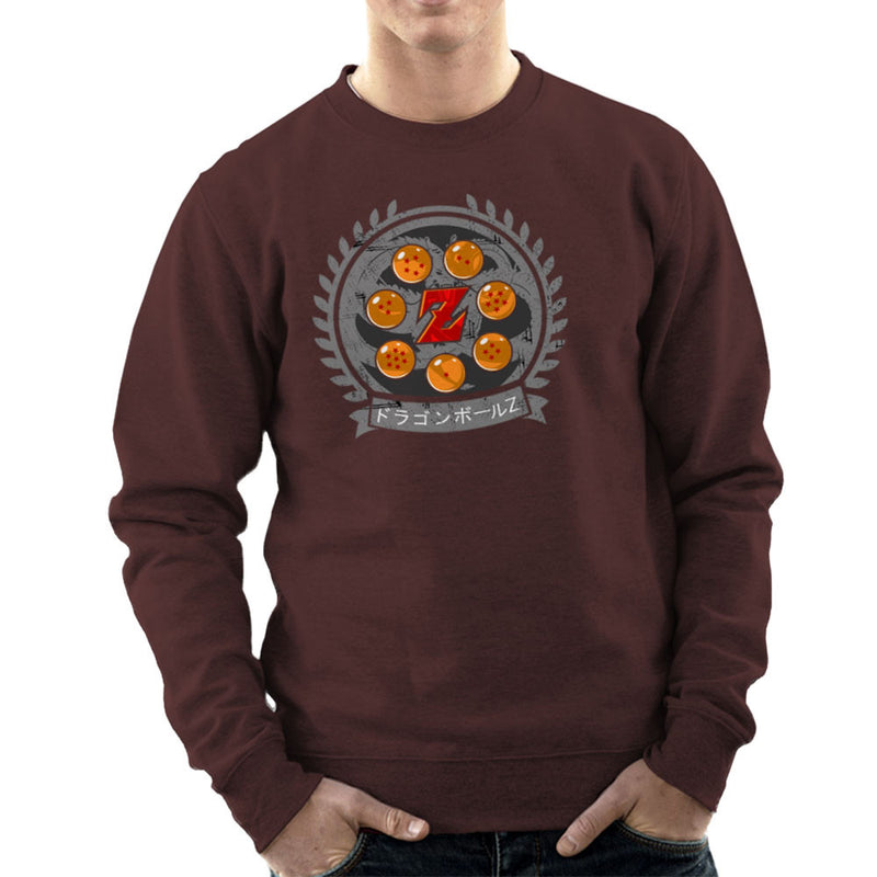 Medallion Dragonball Z Men's Sweatshirt Men's Sweatshirt Cloud City 7 - 12