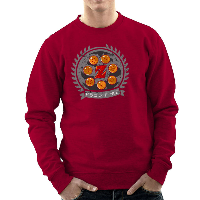 Medallion Dragonball Z Men's Sweatshirt Men's Sweatshirt Cloud City 7 - 15