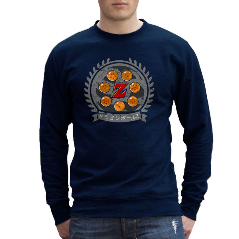 Medallion Dragonball Z Men's Sweatshirt Men's Sweatshirt Cloud City 7 - 7