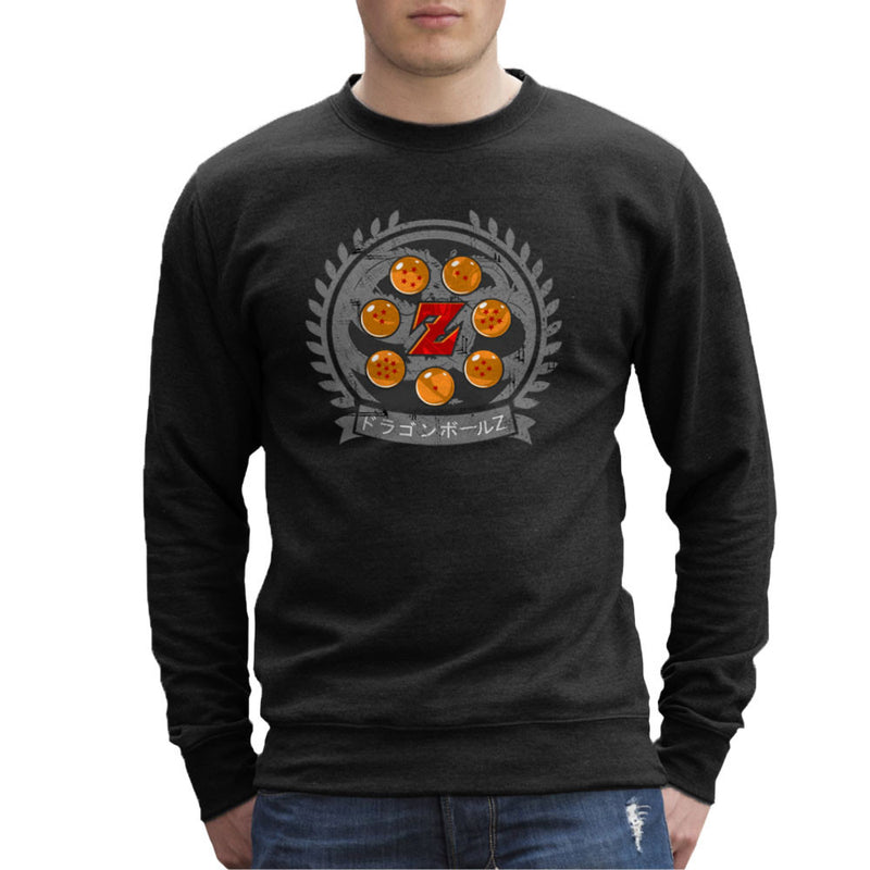 Medallion Dragonball Z Men's Sweatshirt Men's Sweatshirt Cloud City 7 - 1
