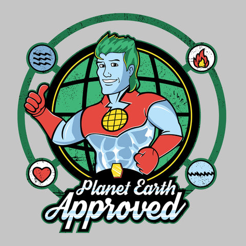 Captain Planet Earth Approved