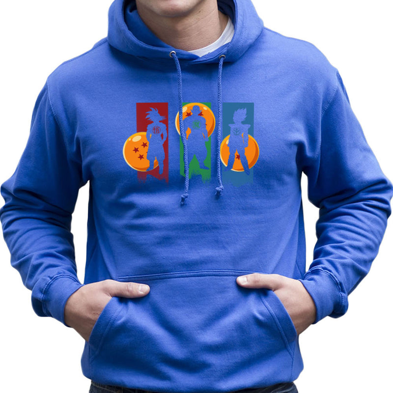 The Core Team Dragon Ball Z Goku Vegeta Piccolo Men's Hooded Sweatshirt by Kempo24 - Cloud City 7