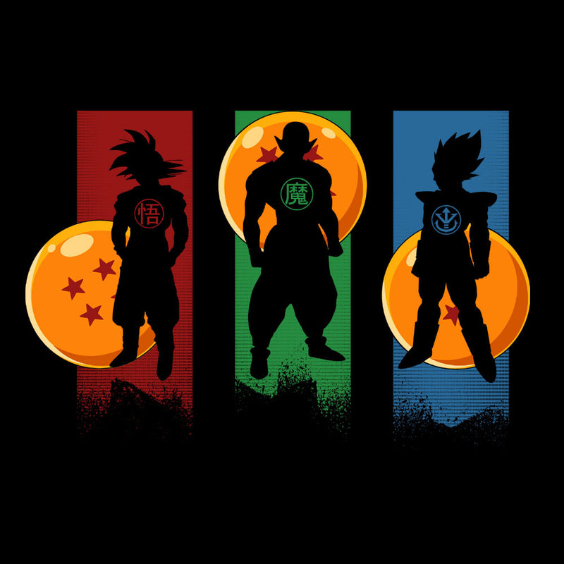 The Core Team Dragonball Z Goku Vegeta Piccolo Women's Vest Women's Vest Cloud City 7 - 3