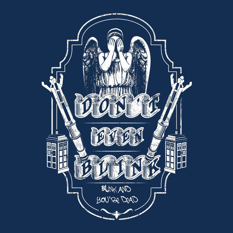 Don't Even Blink Weeping Angels Doctor Who Tardis by Kempo24 - Cloud City 7