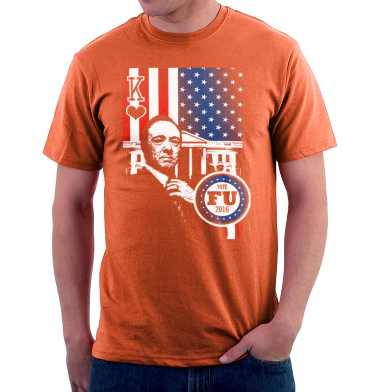 Vote FU House of Cards Frank Underwood King Men's T-Shirt by Kempo24 - Cloud City 7