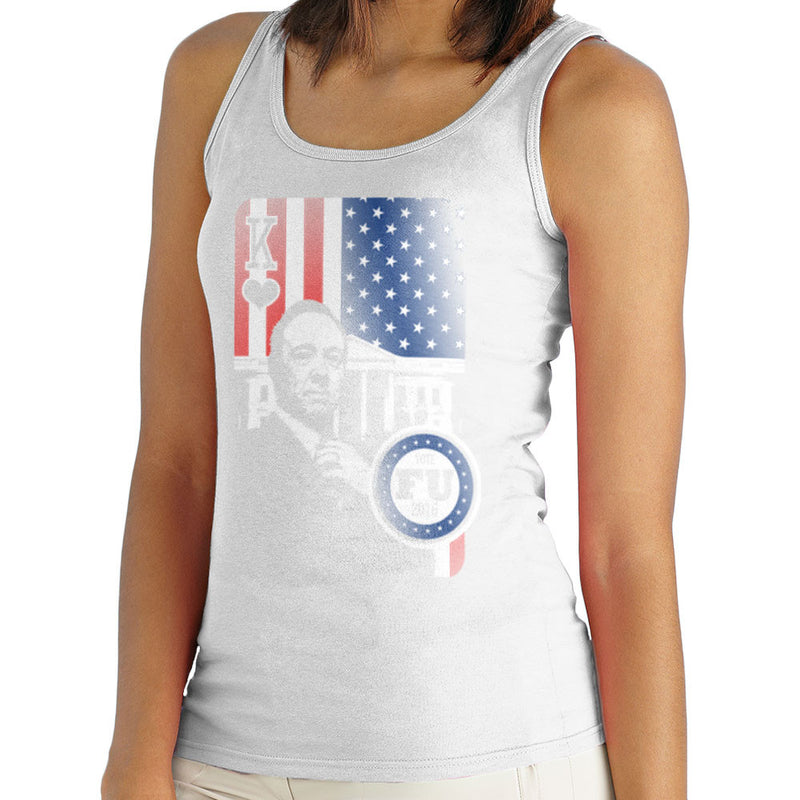 Vote FU House of Cards Frank Underwood King Women's Vest by Kempo24 - Cloud City 7