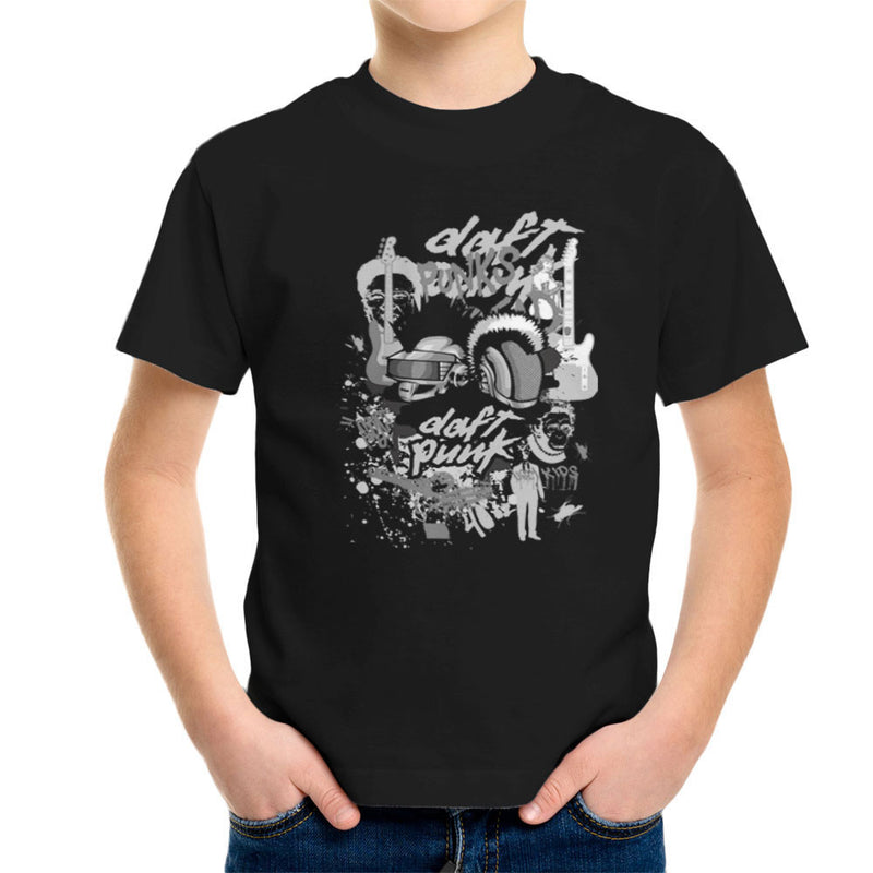 Daft Punk the Youth are Getting Restless Kid's T-Shirt by Goodmorningnight - Cloud City 7