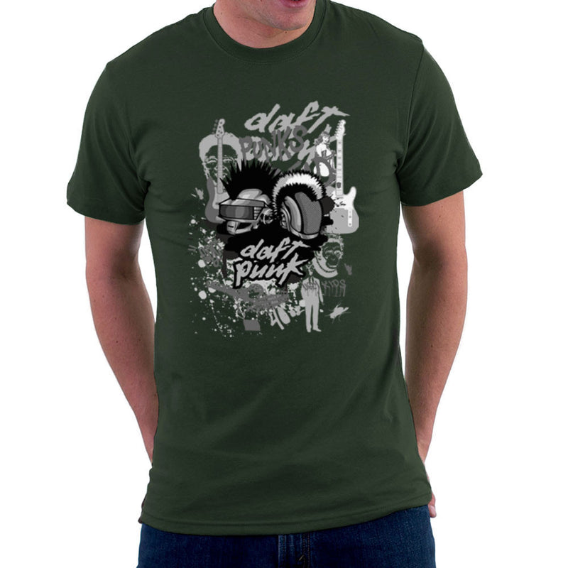 Daft Punk the Youth are Getting Restless Men's T-Shirt by Goodmorningnight - Cloud City 7