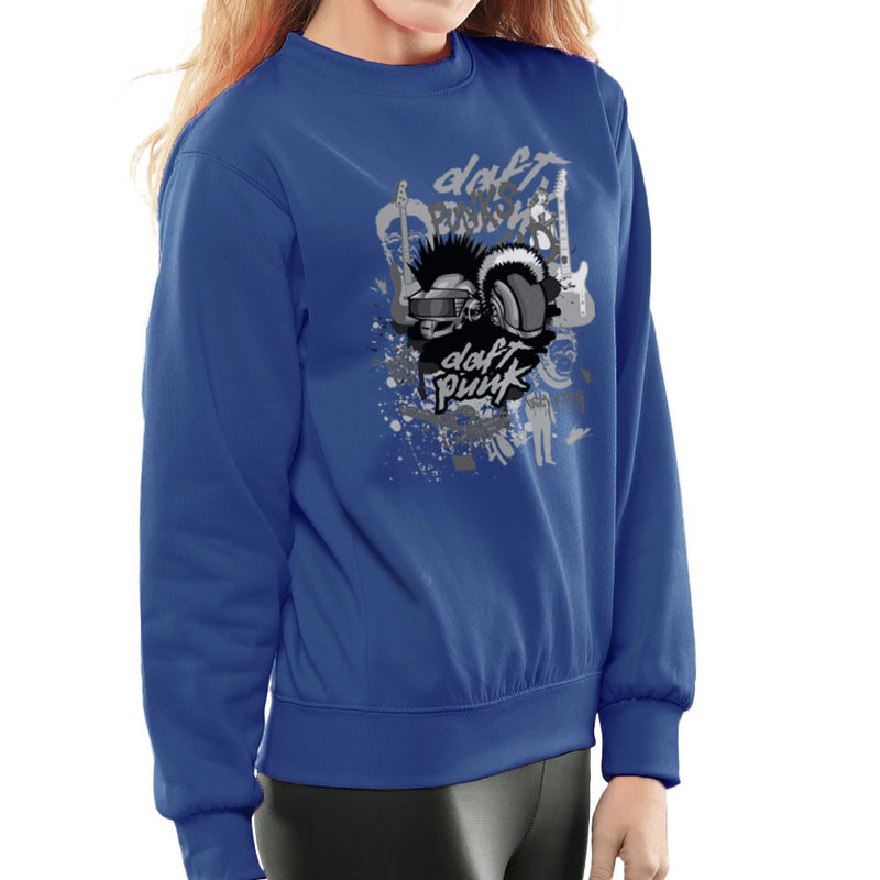 Daft Punk the Youth are Getting Restless Women's Sweatshirt by Goodmorningnight - Cloud City 7