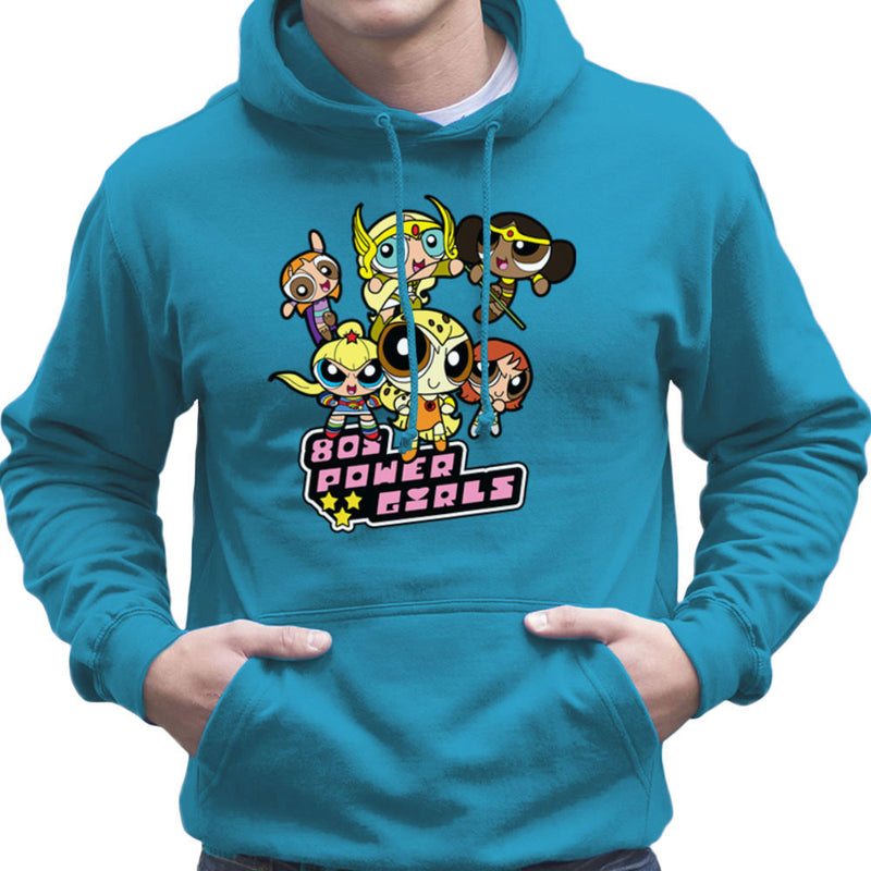 Eighties Power Girls Powerpuff Men's Hooded Sweatshirt by TopNotchy - Cloud City 7