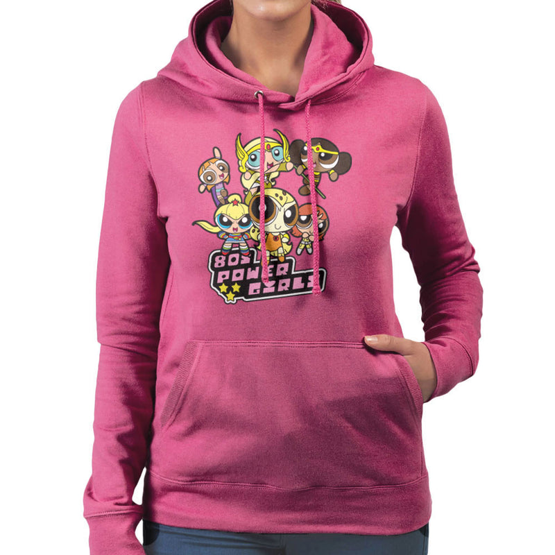 Eighties Power Girls Powerpuff Women's Hooded Sweatshirt by TopNotchy - Cloud City 7