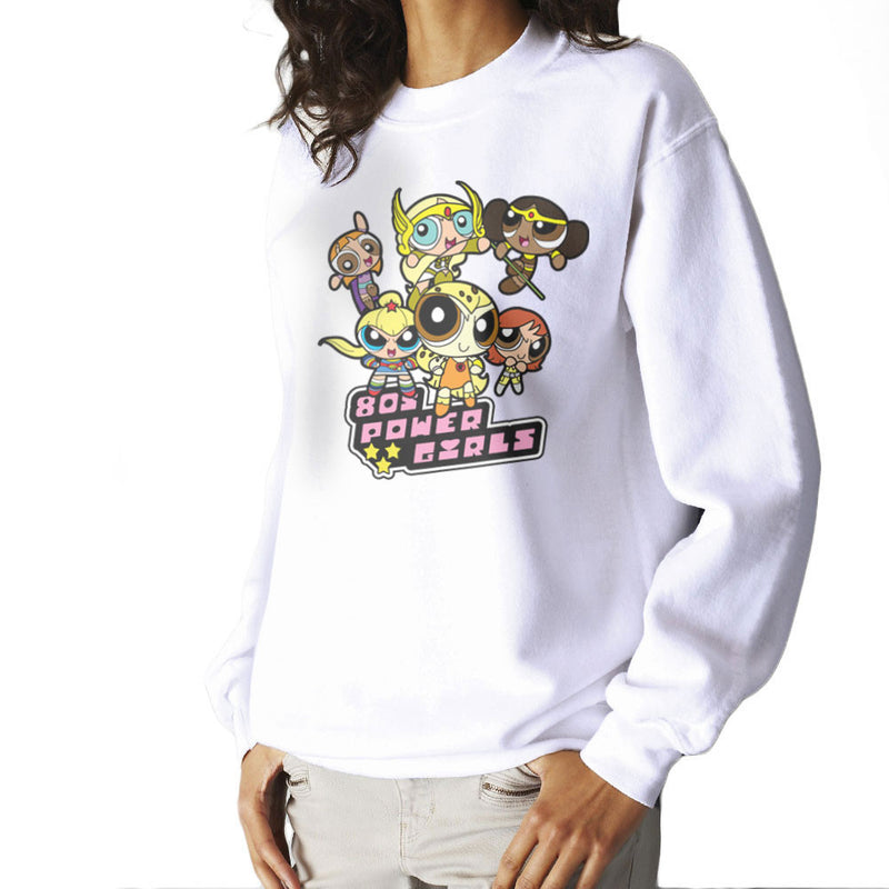Eighties Power Girls Powerpuff Women's Sweatshirt by TopNotchy - Cloud City 7
