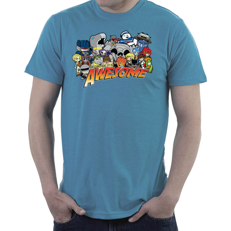The Eighties Because its Awesome Men's T-Shirt by TopNotchy - Cloud City 7