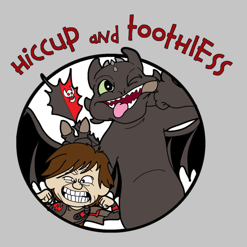 Hiccup and Toothless How to Train Your Dragon Calvin and Hobbes Men's T-Shirt by TopNotchy - Cloud City 7