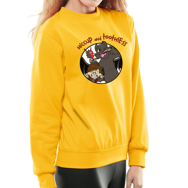 Hiccup and Toothless How to Train Your Dragon Calvin and Hobbes Women's Sweatshirt Women's Sweatshirt Cloud City 7 - 18