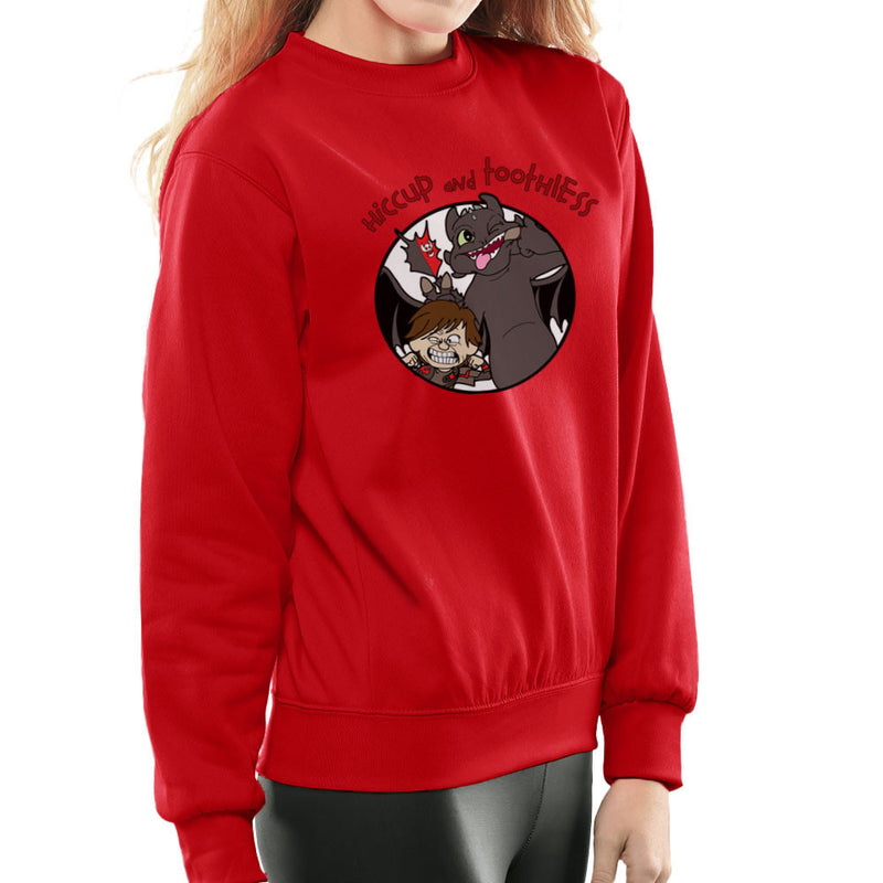 Hiccup and Toothless How to Train Your Dragon Calvin and Hobbes Women's Sweatshirt Women's Sweatshirt Cloud City 7 - 16