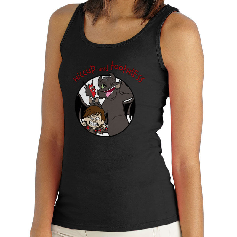Hiccup and Toothless How to Train Your Dragon Calvin and Hobbes Women's Vest Women's Vest Cloud City 7 - 2