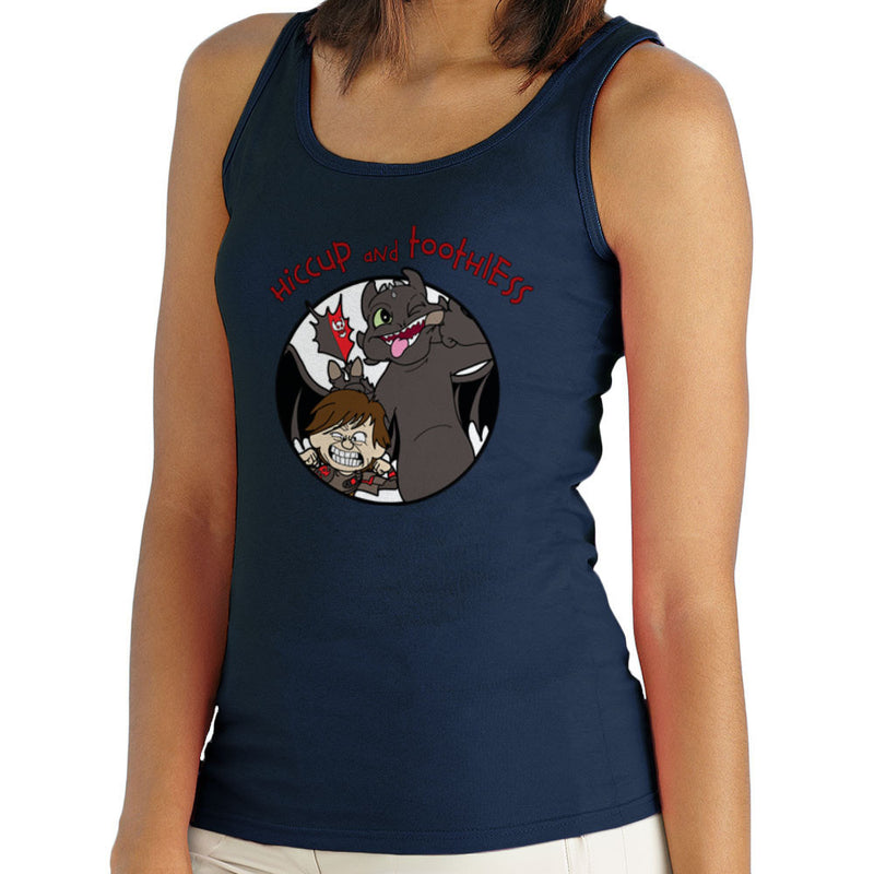 Hiccup and Toothless How to Train Your Dragon Calvin and Hobbes Women's Vest Women's Vest Cloud City 7 - 6