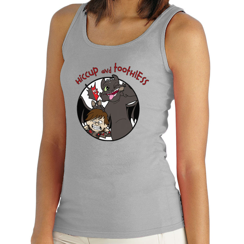 Hiccup and Toothless How to Train Your Dragon Calvin and Hobbes Women's Vest Women's Vest Cloud City 7 - 1