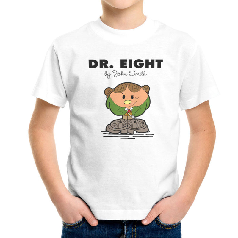 Dr Eight Doctor Who Paul McGann Mr Men Kid's T-Shirt by TopNotchy - Cloud City 7