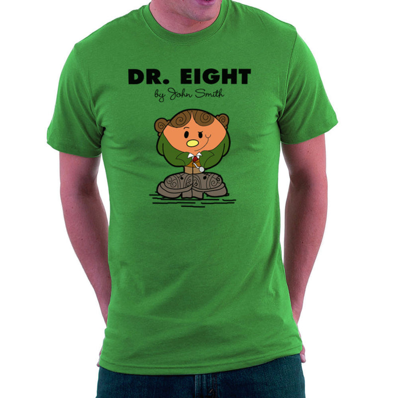 Dr Eight Doctor Who Paul McGann Mr Men Men's T-Shirt by TopNotchy - Cloud City 7