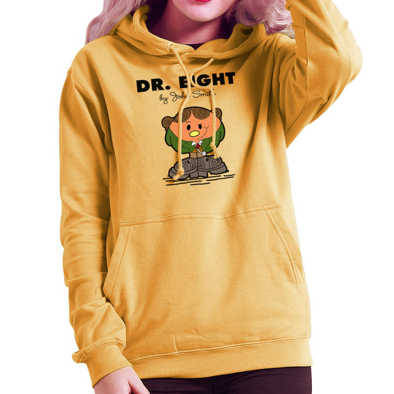 Dr Eight Doctor Who Paul McGann Mr Men Women's Hooded Sweatshirt by TopNotchy - Cloud City 7