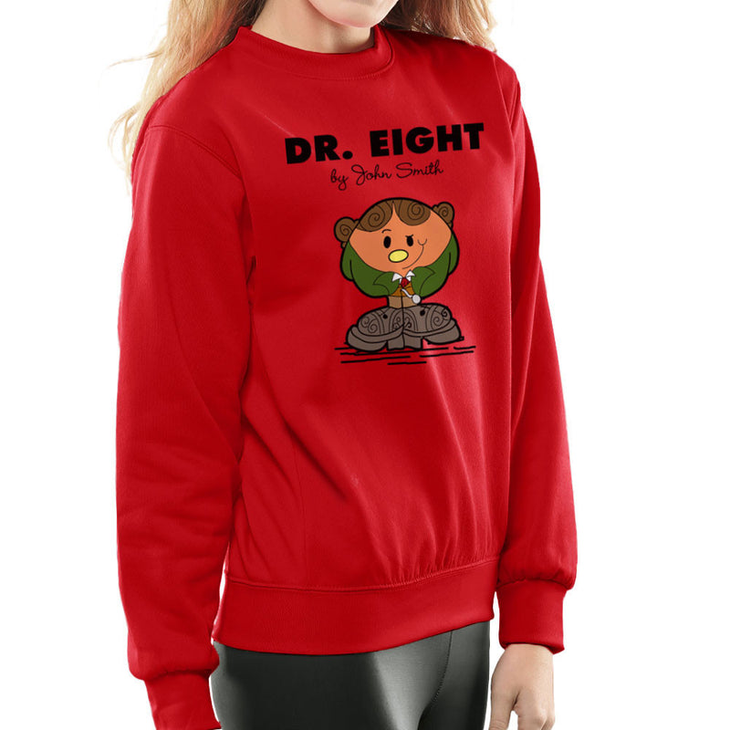 Dr Eight Doctor Who Paul McGann Mr Men Women's Sweatshirt by TopNotchy - Cloud City 7