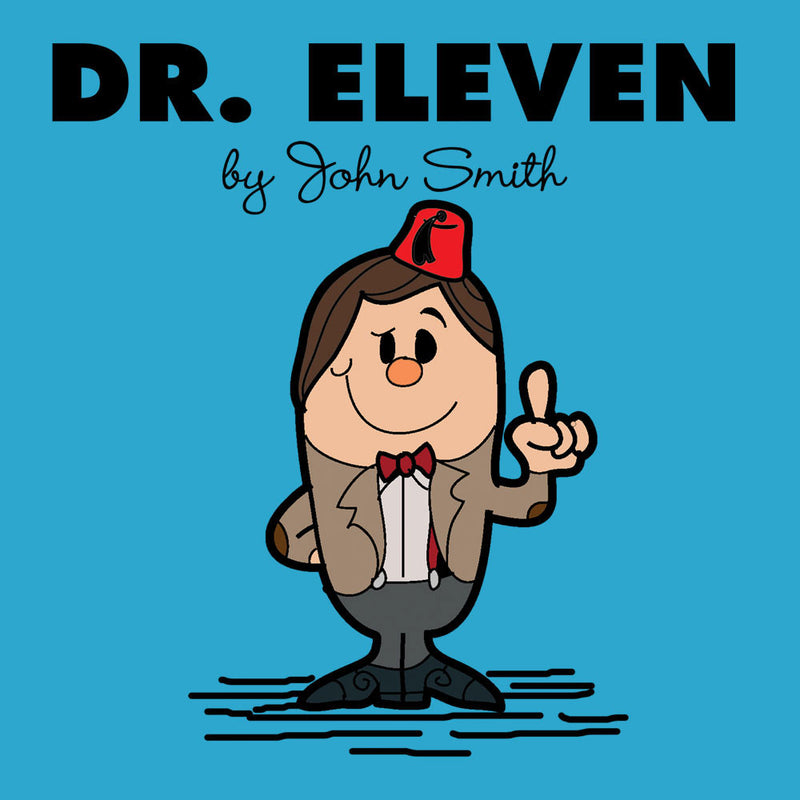 Dr Eleven Doctor Who Matt Smith Mr Men Kid's T-Shirt Kid's Boy's T-Shirt Cloud City 7 - 3