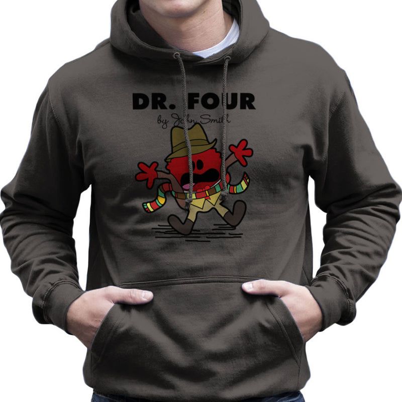 Dr Four Doctor Who Tom Baker Mr Men Men's Hooded Sweatshirt by TopNotchy - Cloud City 7