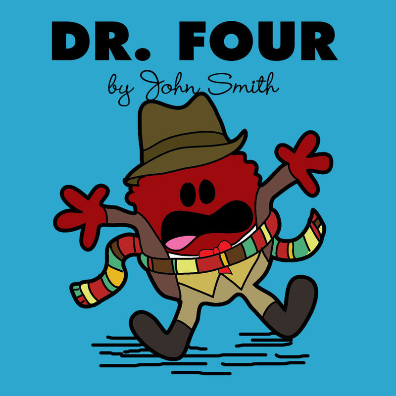 Dr Four Doctor Who Tom Baker Mr Men Men's T-Shirt by TopNotchy - Cloud City 7