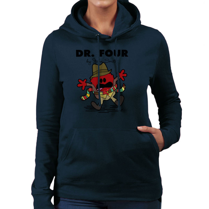 Dr Four Doctor Who Tom Baker Mr Men Women's Hooded Sweatshirt by TopNotchy - Cloud City 7