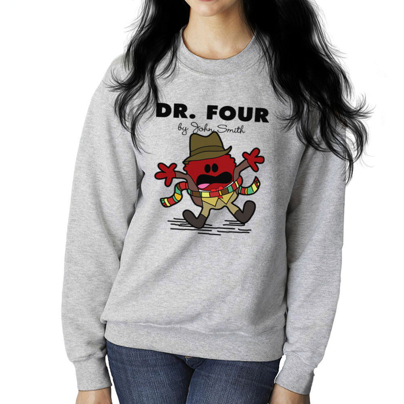 Dr Four Doctor Who Tom Baker Mr Men Women's Sweatshirt by TopNotchy - Cloud City 7