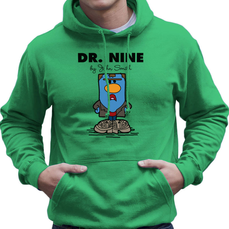 Dr Nine Doctor Who Christopher Eccleston Mr Men Men's Hooded Sweatshirt by TopNotchy - Cloud City 7