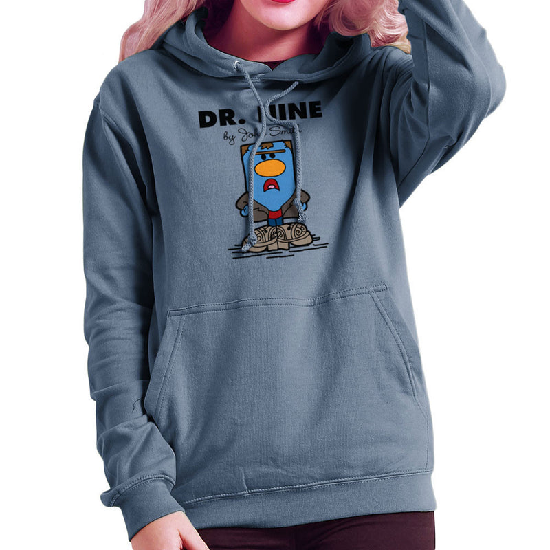 Dr Nine Doctor Who Christopher Eccleston Mr Men Women's Hooded Sweatshirt by TopNotchy - Cloud City 7