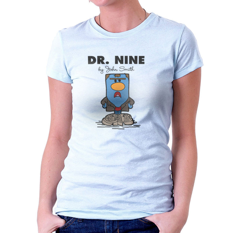 Dr Nine Doctor Who Christopher Eccleston Mr Men Women's T-Shirt by TopNotchy - Cloud City 7
