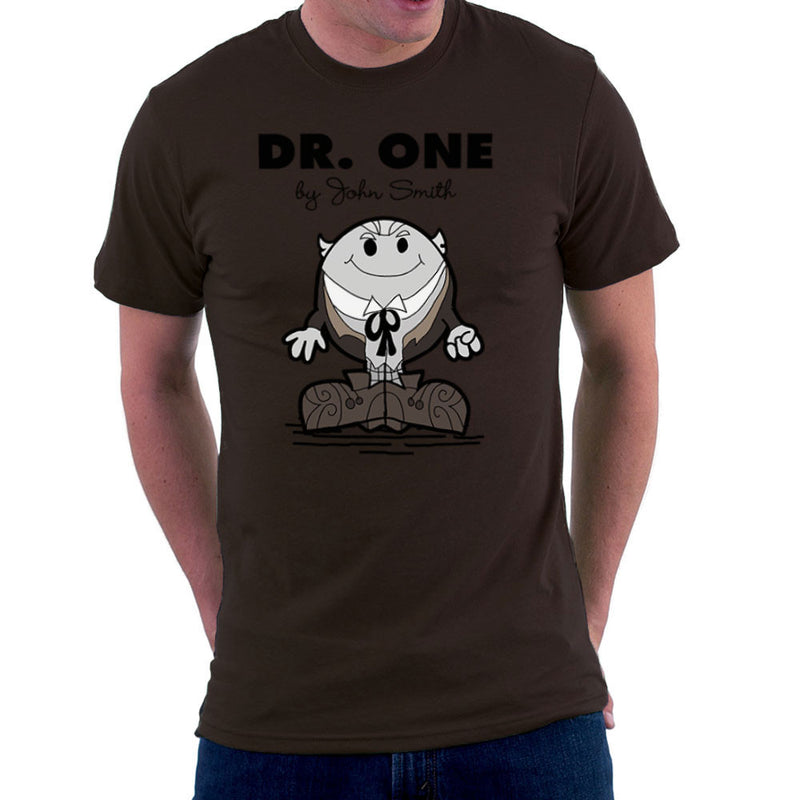 Dr One Doctor Who William Hartnell Mr Men Men's T-Shirt by TopNotchy - Cloud City 7