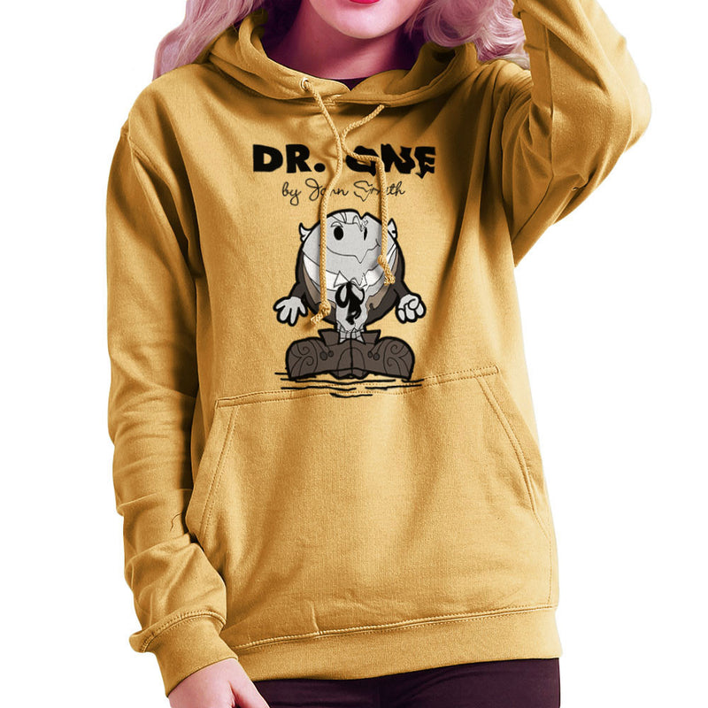 Dr One Doctor Who William Hartnell Mr Men Women's Hooded Sweatshirt by TopNotchy - Cloud City 7