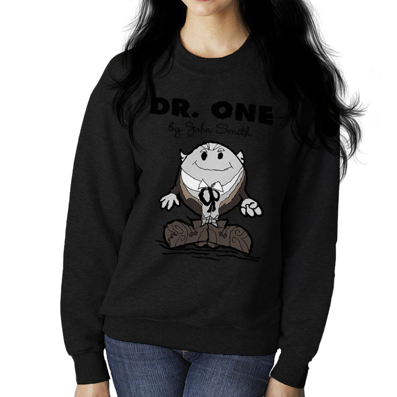 Dr One Doctor Who William Hartnell Mr Men Women's Sweatshirt by TopNotchy - Cloud City 7