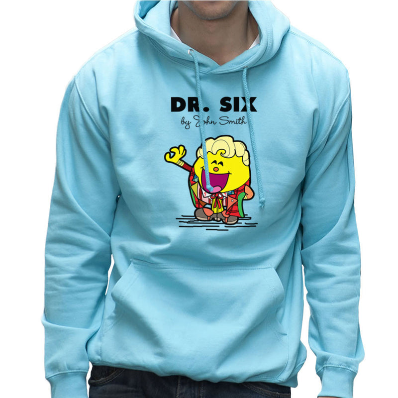 Dr Six Doctor Who Colin Baker Mr Men Men's Hooded Sweatshirt by TopNotchy - Cloud City 7