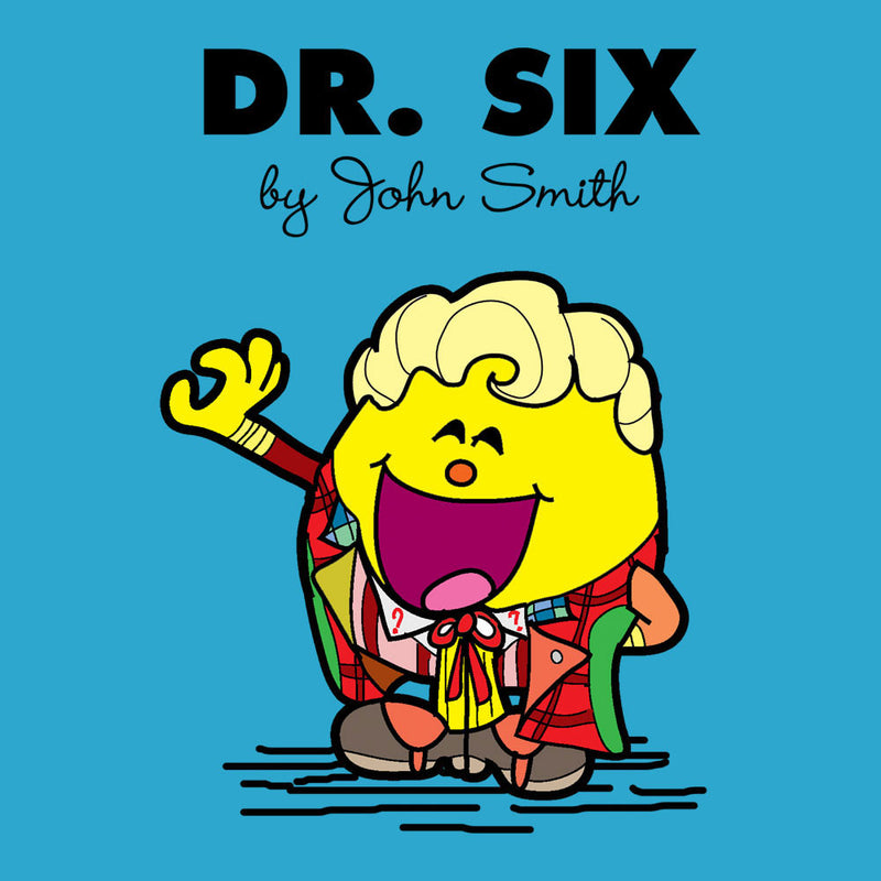 Dr Six Doctor Who Colin Baker Mr Men Men's T-Shirt by TopNotchy - Cloud City 7