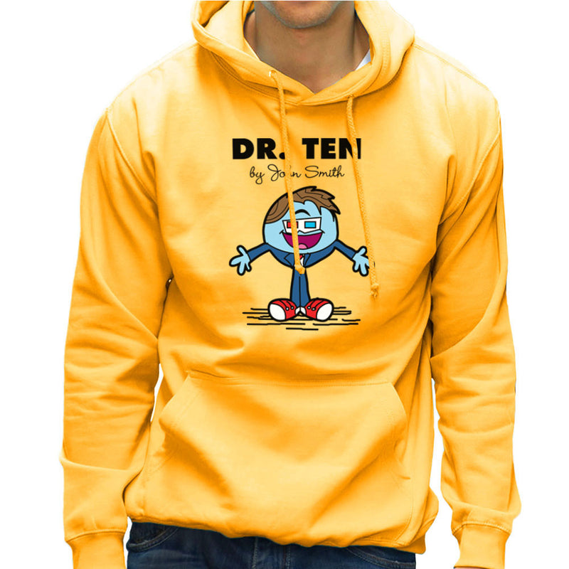 Dr Ten Doctor who David Tennant Mr Men Men's Hooded Sweatshirt by TopNotchy - Cloud City 7