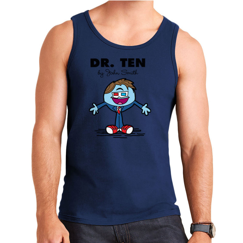 Dr Ten Doctor who David Tennant Mr Men Men's Vest by TopNotchy - Cloud City 7