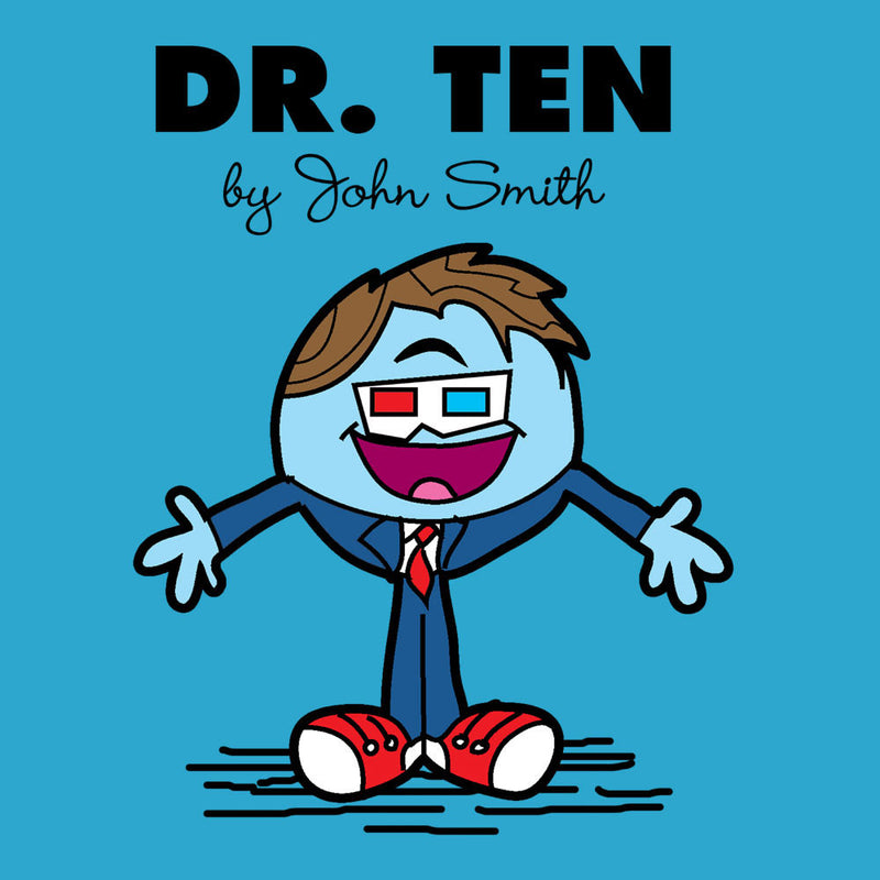 Dr Ten Doctor who David Tennant Mr Men by TopNotchy - Cloud City 7