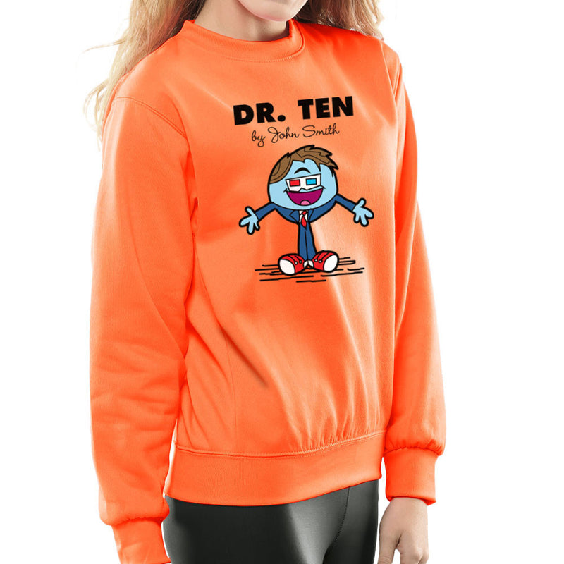 Dr Ten Doctor who David Tennant Mr Men Women's Sweatshirt by TopNotchy - Cloud City 7