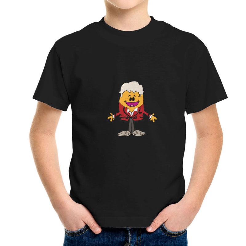 Dr Three Doctor Who Jon Pertwee Mr Men Kid's T-Shirt by TopNotchy - Cloud City 7