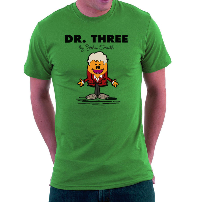 Dr Three Doctor Who Jon Pertwee Mr Men Men's T-Shirt by TopNotchy - Cloud City 7