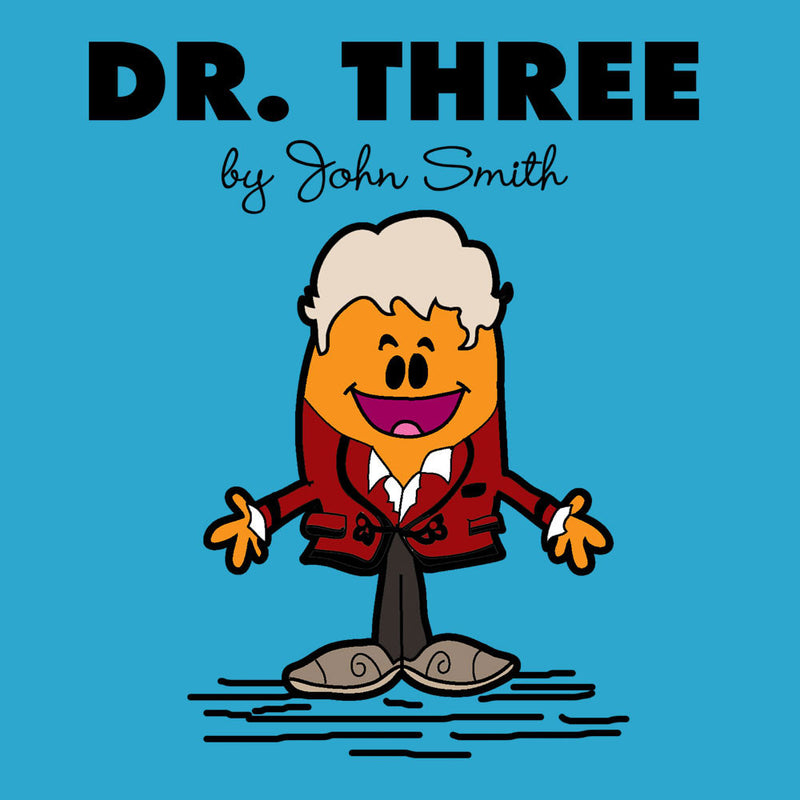 Dr Three Doctor Who Jon Pertwee Mr Men by TopNotchy - Cloud City 7