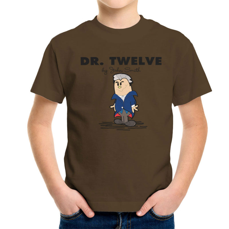 Dr Twelve Doctor Who Peter Capaldi Mr Men Kid's T-Shirt by TopNotchy - Cloud City 7